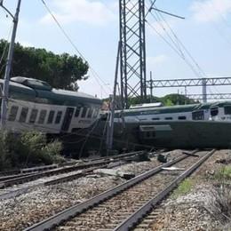 Incredibile, il treno deragliato  era senza macchinista