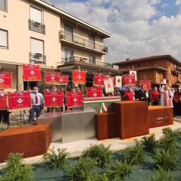 Valgreghentino, monumento ai donatori  Doppia festa per Avis e Aido