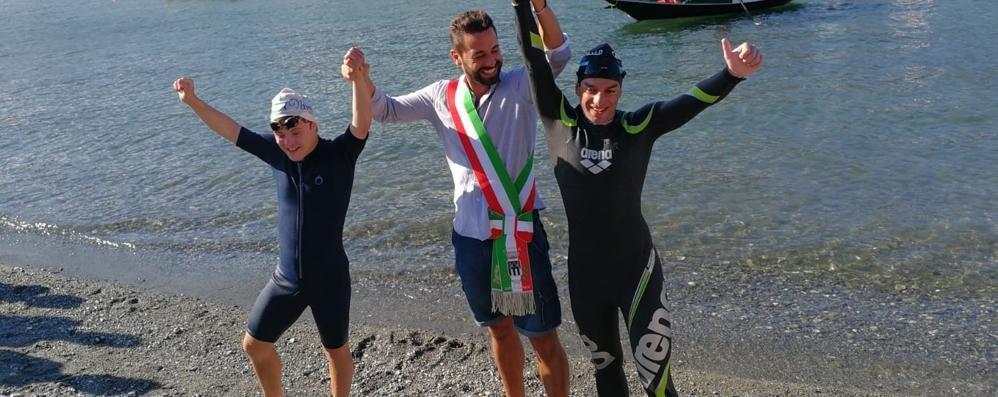 Giorgio Riva, missione compiuta  Lecco-Colico con un'ora di anticipo