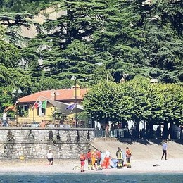 Trovato nel lago il turista  Era in vacanza a  Varenna Forse un malore