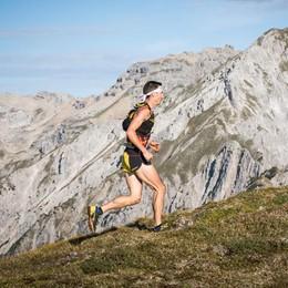 Antonioli secondo   alla Dynafit Trail Run3