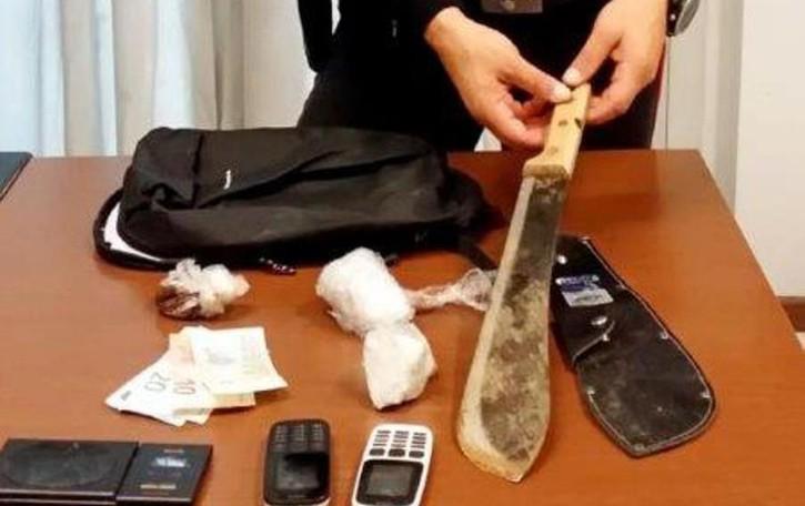 Bosisio, Droga, soldi e machete   Un altro pusher arrestato nei boschi