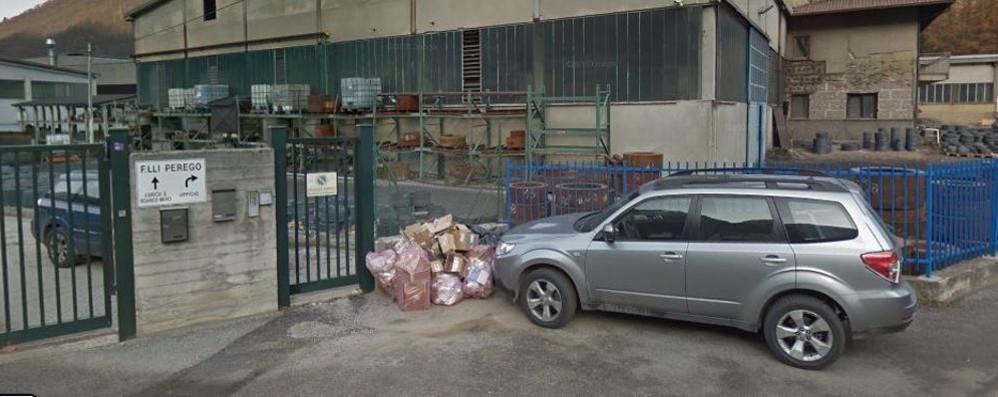 Primaluna, maxi furto alla ditta dell'ottone  Con il camion del Comune di Casargo
