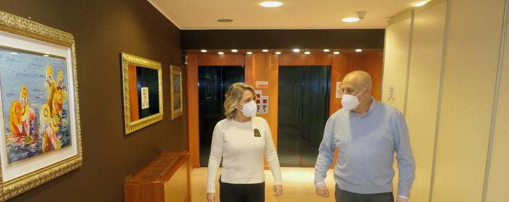 Erba, Covid hotel pronto con 36 camere  Vaccini di massa, Lariofiere si candida