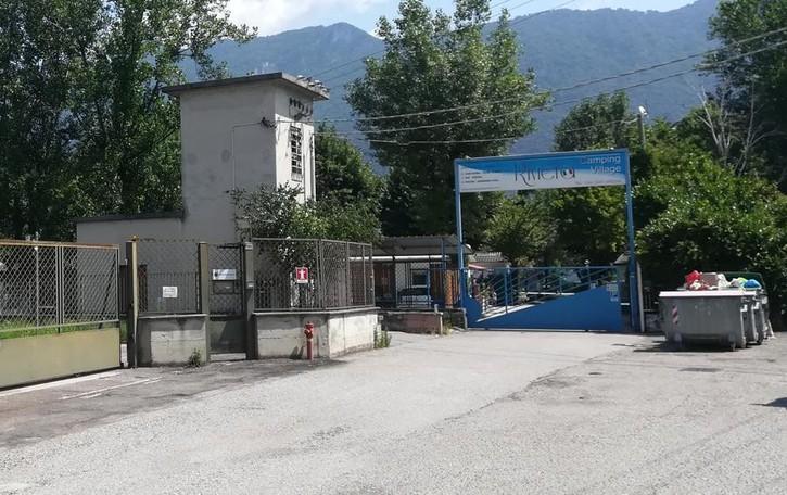Il camping Riviera di Garlate  finisce sotto sequestro