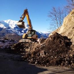 Rocce pericolanti a Moggio  La Sp 64 resta chiusa