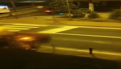 Video spaccata Merone
