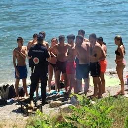 Alt ai bivacchi sulle spiagge di Oliveto  «Sequestreremo tende e griglie»