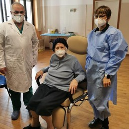 Vaccinazioni anti-Covid in Valsassina  Da oggi in località Sceregalli, a Introbio