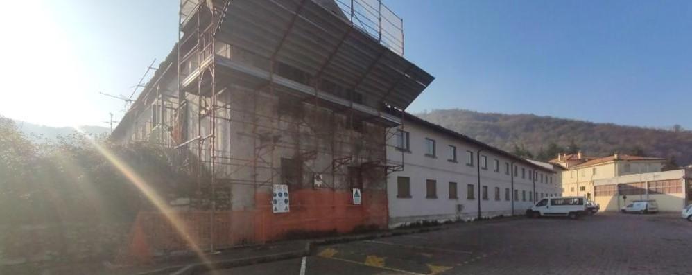 Garlate vuole tutta l'ex Filanda  Offerta da 140mila euro per l'ala est