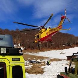 Mandello, tragedia sul Grignone  Muore escursionista di 36 anni
