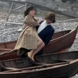 Tremezzina, Hollywood saluta  Lady Gaga e Driver, coccole in barca
