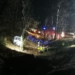 Incidente mortale a Torre de' Busi  Cade nel burrone con il furgoncino