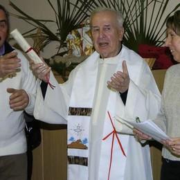 Vendrogno piange don Eugenio  per trent'anni al servizio della comunità