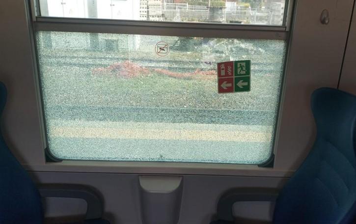Colico, vandali sul treno  Ingenti i danni