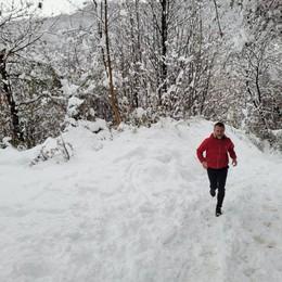 Da Lecco alla Valtellina,  Corsa in solitaria di 150km