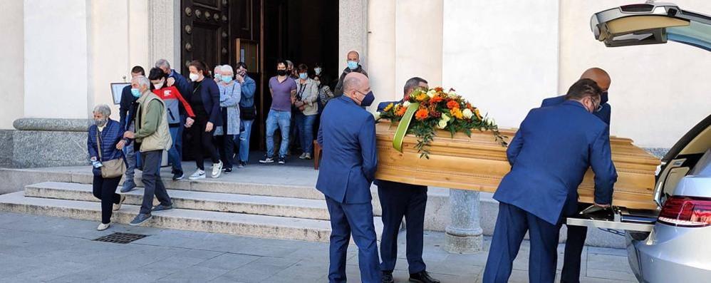Valmadrera: «Addio Andrea  Il tuo esempio rimarrà»