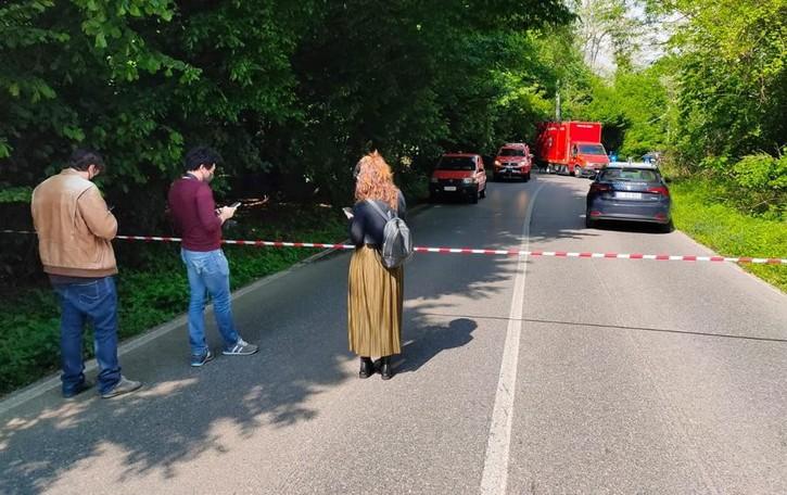 Cadavere  ustionato  ritrovato a Garbagnate