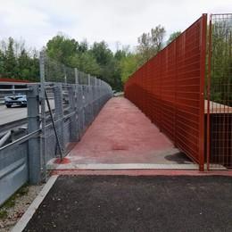 Ponte di Annone, tolto l'ultimo ostacolo  Ora pedoni e ciclisti passano in sicurezza