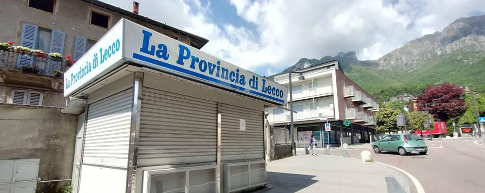 Valmadrera, una sola edicola in città   «Fatevi avanti, cercano un gestore »