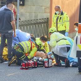 Lierna, fuori pericolo il bimbo caduto in bici  «Tutto il paese è vicino alla famiglia»