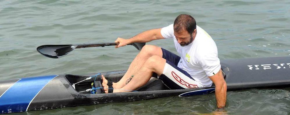 Antonio Rossi dopo l'infarto  «Ora sto bene, grazie a tutti»