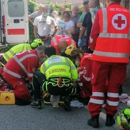 Barzanò, il bimbo investito sta migliorando  Resta in prognosi riservata a Bergamo