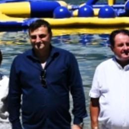 Dervio, Tuffi all'Acquapark  «Un turismo giovane che valorizza il lago»