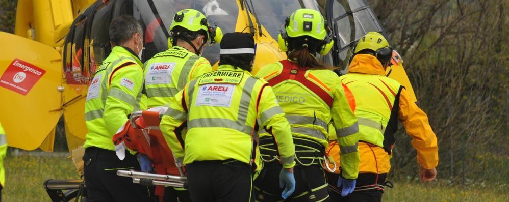 Incidente stradale a Dervio  Grave motociclista di Bellano