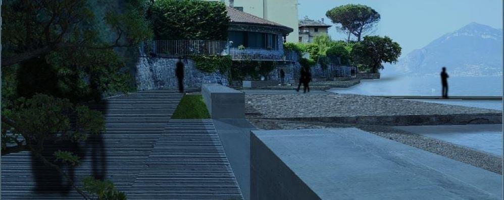 Meno cemento sul lido di Oro  Il progetto di Bellano ora piace a tutti
