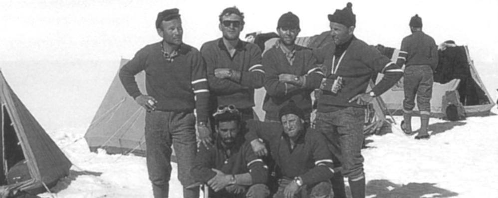 Valmadrera ricorda la spedizione  «McKinley, un'impresa tra veri amici»