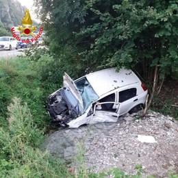 Ballabio, auto fuoristrada  sul colle di Balisio