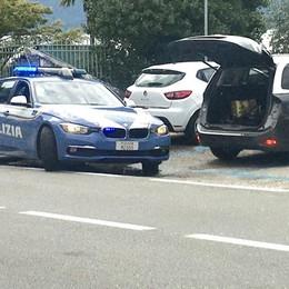 Lierna, Mistero Moto Guzzi  Un drone per il video blocca la provinciale
